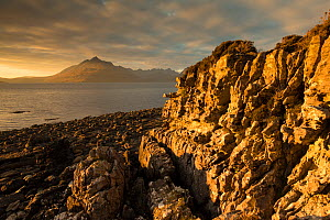 Red Cuillin in evening light from Elgol, Isle of Skye, Inner Hebrides, Scotland, UK, October 2014 - SCOTLAND: The Big Picture