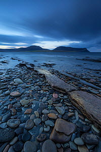 Warebeth Beach at dawn with view to Hoy, Orkney, Scotland, UK, November 2014. - SCOTLAND: The Big Picture