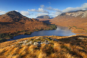 Sgurr Dubh, Liathach and Beinn Eighe from above Loch Clair, Torridon, Highlands, Scotland, UK, November 2014. - SCOTLAND: The Big Picture