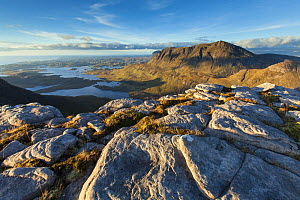 View from Cul Beag to Cul Mor, Assynt, Highlands, Scotland, UK, September 2013. - SCOTLAND: The Big Picture