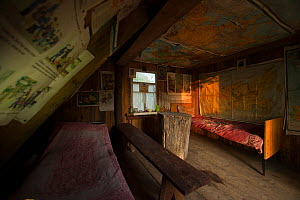 Foresters cabin in the Chernobyl Exlusion Zone, Ukraine September - Luke Massey