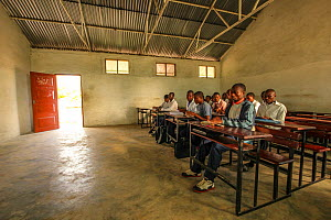 An English class in the secondary school in Mossuril, Mozambique. June 2011 - Jen Guyton