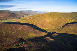 Open moorland mainly used for Grouse shooting, Eastern Grampians, Cairngorms National Park, Scotland, UK, August - SCOTLAND: The Big Picture