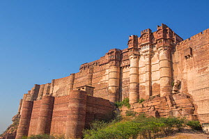 Mehrangarh Fort, located in Jodhpur, Rajasthan, India. March 2015  -  Mark MacEwen