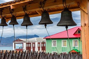 Bells in Barentsburg, Russian city in Norwegian territory,  September 2016.  -  Olga Kamenskaya