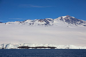 Mount Terror,    Ross Sea, Antarctica. Photographed for The Freshwater Project  -  Michel  Roggo