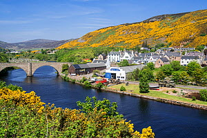 Timespan Museum along the River Helmsdale at the fishing village Helmsdale, Sutherland, Scottish Highlands, Scotland, UK, May 2017  -  Philippe Clement