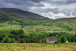 18th century Bernera Barracks near Glenelg, Ross and Cromarty in the West Highlands of Scotland, UK, June 2017  -  Philippe Clement