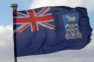 The flag of the Falkland Islands, December 2016 - Mike Read