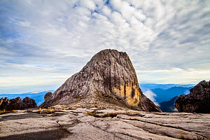 Victoria Peak (4091 m), Mount Kinabalu, Borneo. May 2013. - Paul Williams