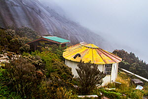 Sayat-Sayat checkpoint, below the summit of Mount Kinabalu, Borneo, May 2013. - Paul Williams