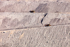The Beltana number 1 mine, an open cast or drift coal mine managed by Xstrata coal in the Hunter Valley, New South Wales, Australia. February 2010.  -  Ashley Cooper