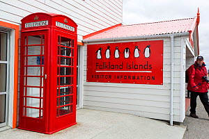 Visitor centre at Port Stanley, the capital of the Falkland Islands February 2014..  -  Ashley Cooper