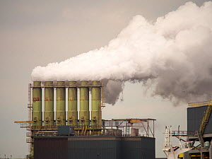 Emissions from a Tata steel works in Ijmuiden, Netherlands.May 2013 - Ashley Cooper