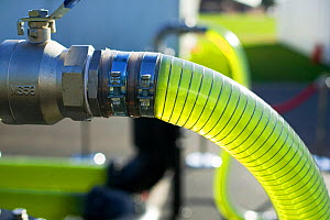 An AlgaeLink Algae growing system that is harvested to make ethanol and biodiesel Producing oil from algae in this way is much more efficient than from growing traditional plant oil crops like oil see...  -  Ashley Cooper