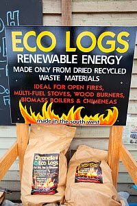 Citronella eco logs made from recylced waste material.  -  Ashley Cooper