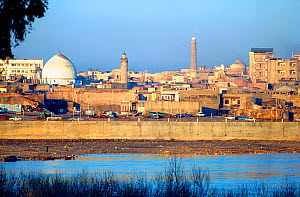 City of Mosul from the Tigris, Iraq. 1980. - Kim Taylor