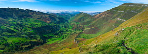 View from Mirador de Covalruyu, Miera Valley, Cantabria, Spain. October 2017.  -  Juan  Carlos Munoz