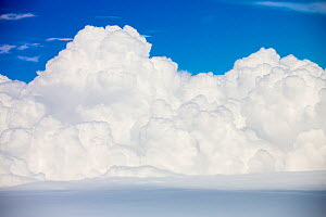 Cumulo Nimbus cloud seen from an airplane window over Argentina. February 2014 - Ashley Cooper