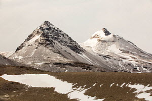 Mountains above Fortuna bay, South Georgia, southern Ocean. February 2014 - Ashley Cooper