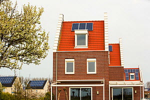 Sun city a suberb of Heerhugowaard in the Netherlands that has develped as a solar hot spot, with the majority of the houses powered by solar panels and is the largest CO2-neutral residential area in... - Ashley Cooper