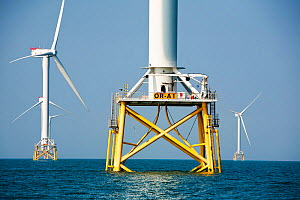 The Ormonde Offshore Wind Farm, Barrow-In-Furness, Cumbria, England, UK. September 2011 - Ashley Cooper