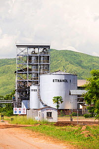 An ethanol plant at Chikwawa in the Shire Valley, Malawi, March 2015.  -  Ashley Cooper