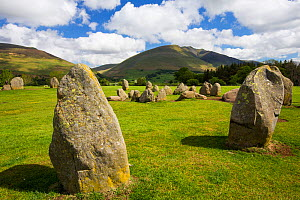Castlerigg stone circle, near Keswick Lake District, England, UK. May. - Ashley Cooper