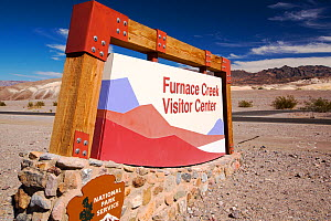The Furnace Creek Visitor Centre in Death Valley. Death Valley is the lowest, hottest, driest place in the USA, with an average annual rainfall of around 2 inches, some years it does not receive any r...  -  Ashley Cooper