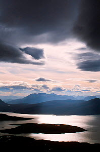 An Teallach from Ben Mor Coigach across Loch Broom in the North West Highlands, Scotland, UK. - Ashley Cooper