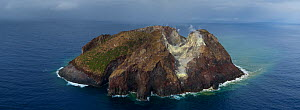Matthew Island, a volcanic Island in disputed territory between New Caledonia (France) and Vanuatu in the South Pacific. August 2017  -  Richard Robinson