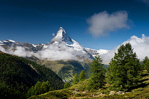 The Matterhorn, near Zermatt, Switzerland, September 2017.  -  Graham Eaton