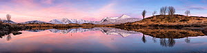 Rannoch Moor and the Black Mount, Argyll and Bute, Scotland, UK. March 2017.  -  Guy Edwardes