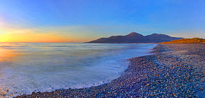 Beach at sunrise, Murlough National Nature Reserve, Dundrum, County Down, Northern Ireland, UK. December 2013. - Robert  Thompson