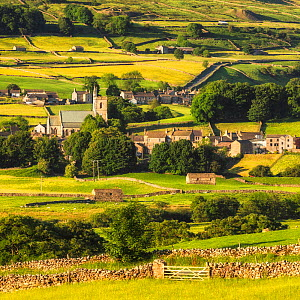 Hawes, Wensleydale, Yorkshire Dales National Park, North Yorkshire, England, UK. June 2017  -  Guy Edwardes