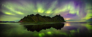 Northern Lights over Vestrahorn, Hofn, Iceland. September 2017 - Guy Edwardes