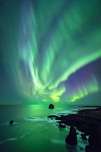 Northern Lights over Reyjanes Pensinsula, Iceland. September 2017 - Guy Edwardes