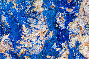 Azurite / Chessylite, soft, deep blue copper mineral - Philippe Clement