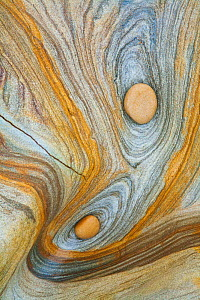 Natural Rock Pattern, Northumberland Coast, England  -  Guy Edwardes