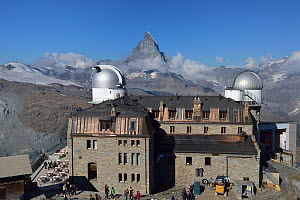 Observatory of Gornergrat, Mont Cervin, Matterhorn, Swiss Alps, Valais, Switzerland, September 2018. - Loic Poidevin
