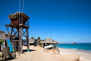 Lookout Tower, el arbolito beach, Cabo Pulmo Marine National Park, Baja California Sur, Mexico - Franco  Banfi