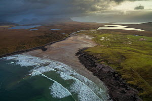 Achnahaird Bay in the northwest Highlands of Scotland, UK, December.  -  SCOTLAND: The Big Picture