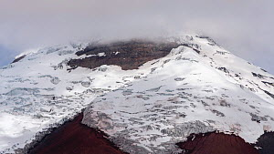 View of the snowcapped Cotopaxi Volcano in the Ecuadorian Andes, 2018. - Morley Read