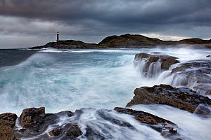 Ardnamurchan Lighthouse, Ardnamurchan Peninsula, Scotland, UK. October 2006.  -  Guy Edwardes