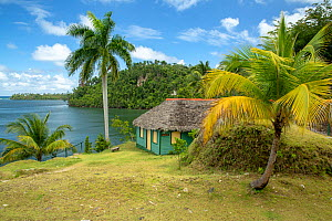 Tourist facilities in Taco Bay, Humboldt National Park, Cuba. March 2019.  -  Bruno D'Amicis