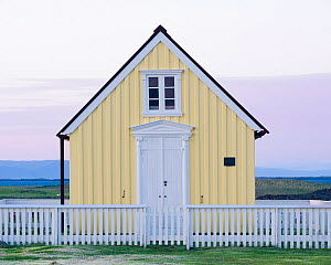 Library in Flatey, Iceland, June.  -  Niall Benvie