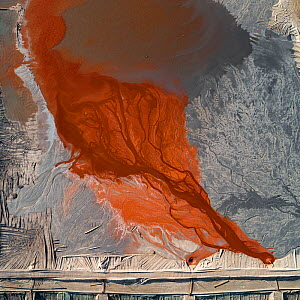 Red mud / alumina waste product from aluminium industry. It is transported from factory located miles away through high pressure pipelines into the huge system of ponds for gradual neutralization and...  -  Milan Radisics