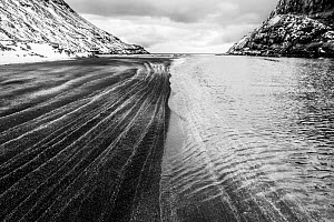 Saksun beach after a strong blizzard Streymoy, Faroe Islands. Highly commended in the Landscapes Category of the GDT competition 2020  -  Theo  Bosboom
