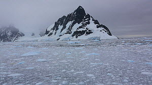 The Lemaire channel, between Booth Island and the Kiev Peninsular, Antarctica.  -  Ashley Cooper