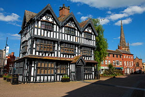 The Old House, built in 1621, Hereford High Town, England, UK. April 2020.  -  Will Watson